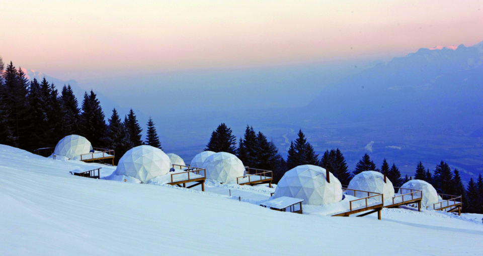 Whitepod Luxury Eco-hotel, Switzerland