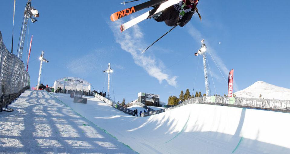 Maddie Bowman Skier Dew Tour Breckenridge