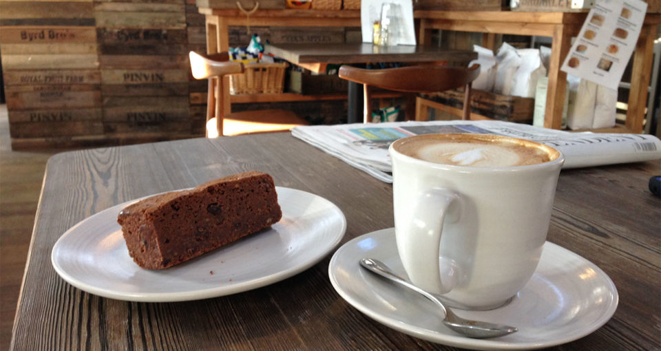 Boat_House_Cafe Streatley_Brownie