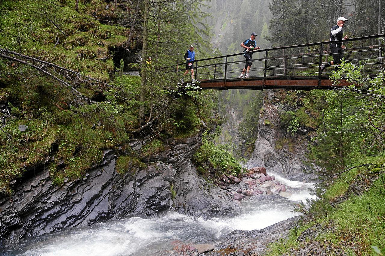 Swissalpine: Lauf durch die wildromantische Zuegenschlucht