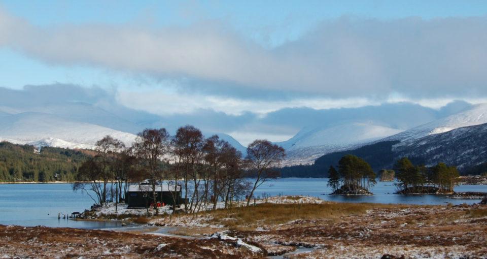 Loch Ossian Youth Hostel, Scotland