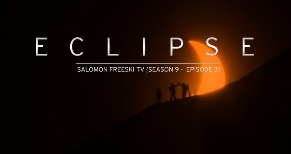 Salomon Capture Ski Footage during 2015 Eclipse