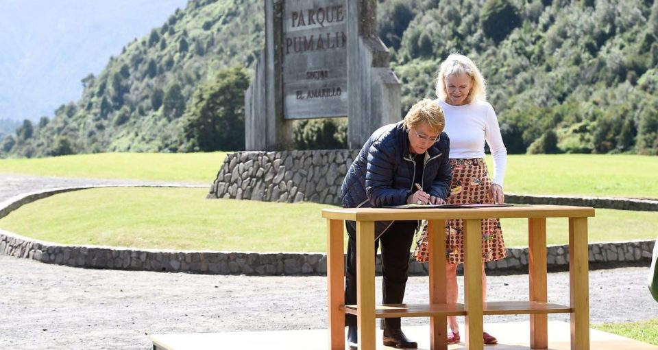 Chilean President Promises Integration with National Park System