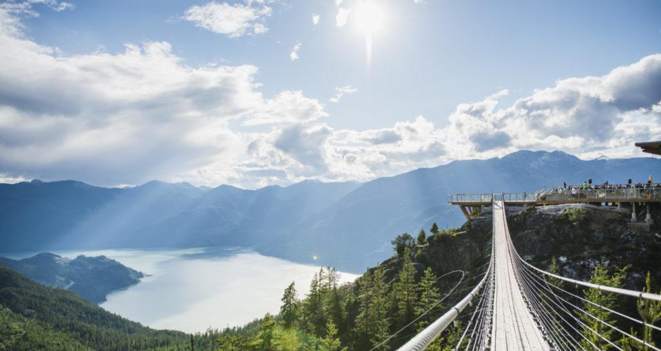 Squamish Sea to Sky Trail, British Columbia