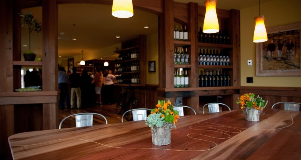 """Clif Family's """"Velo Vino"""" Winery, St. Helena, Napa"""