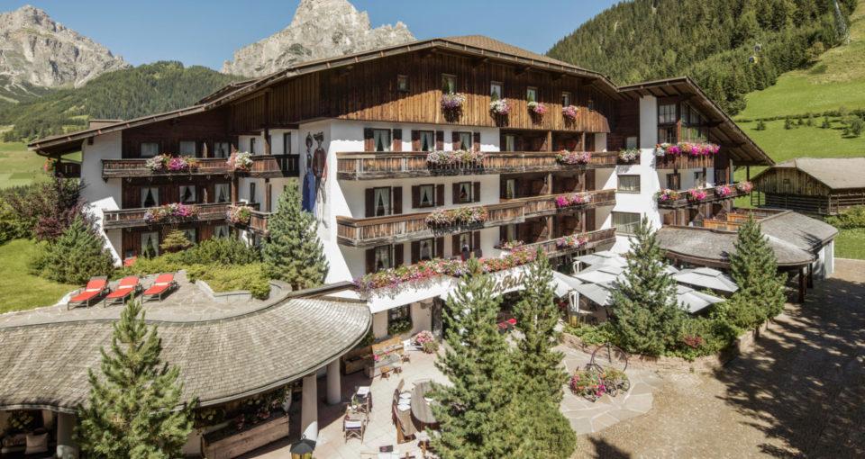 Hotel La Perla, Corvara, Dolomites