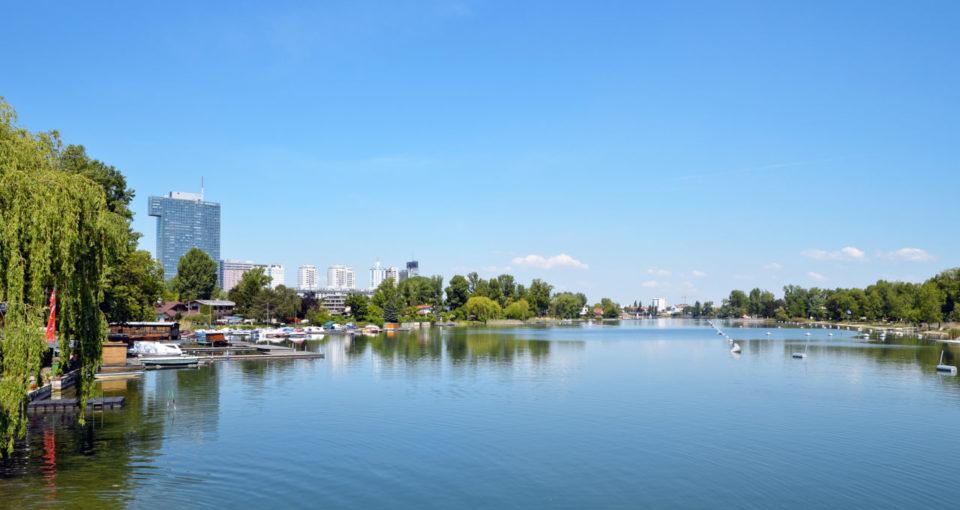 Strandebad Alte Donau Open Water Swimming Area, Vienna