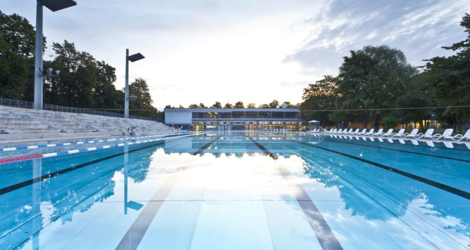 Dantebad Outdoor Swimming Pool, Munich