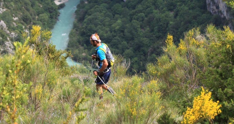 Verdon Canyon Trail Running Race, Provence, France